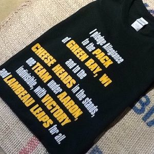 Other - NWOT Green Bay Packer Tee